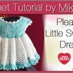 Little Sweetie Dress with Pleats + Tutorial