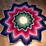 Crochet 12 Point Spectrum Afghan