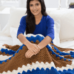 Crochet From Sea to Shining Sea Throw