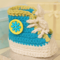 Cute Baby High Top Pattern