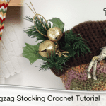 Zig Zag Christmas Stocking Pattern