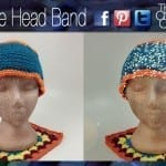 Reflective Head Band Pattern + Video Tutorial