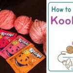 Dying Yarn with Kool-Aid