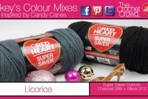 Licorice Inspired Yarn Colours.