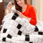 Crochet Crossword Puzzle Lovers Afghan