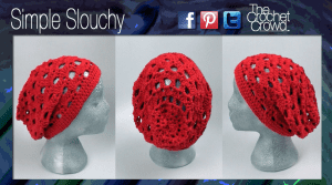 Simple Crochet Pattern, Slouchy