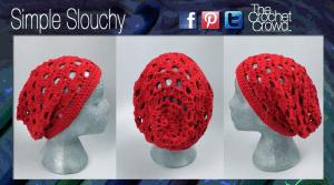 Simple Crochet Pattern, Slouchy