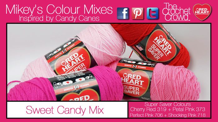 Sweet Candy Yarn Colour Mix