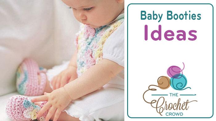 Crochet 5 Baby Booties Patterns