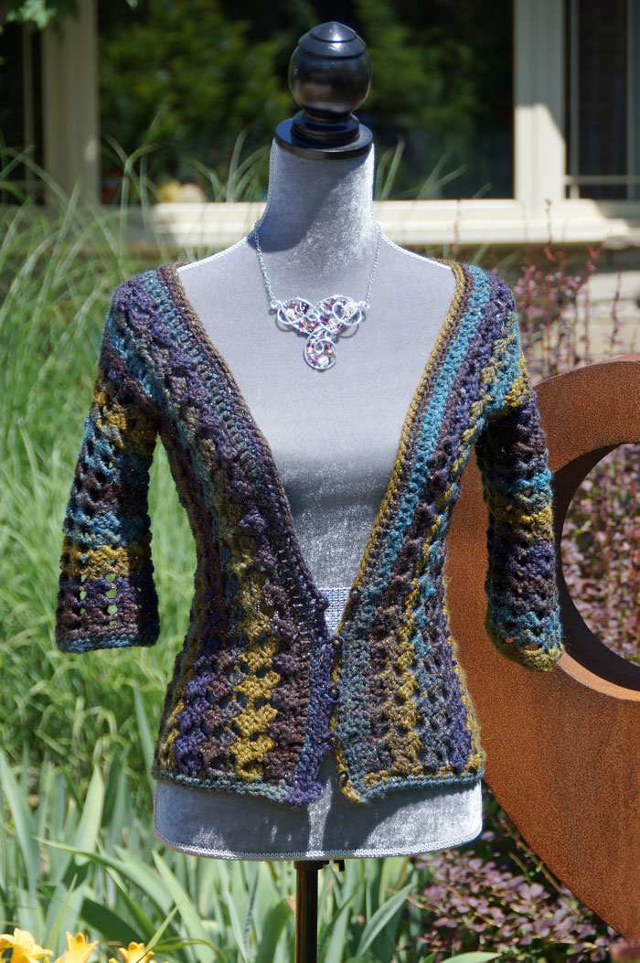 Crochet Lacy Cardigan Pattern The Crochet Crowd