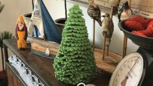 Crochet Fir Ruffle Tree
