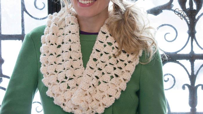 Crochet Infinite Cowl Pattern