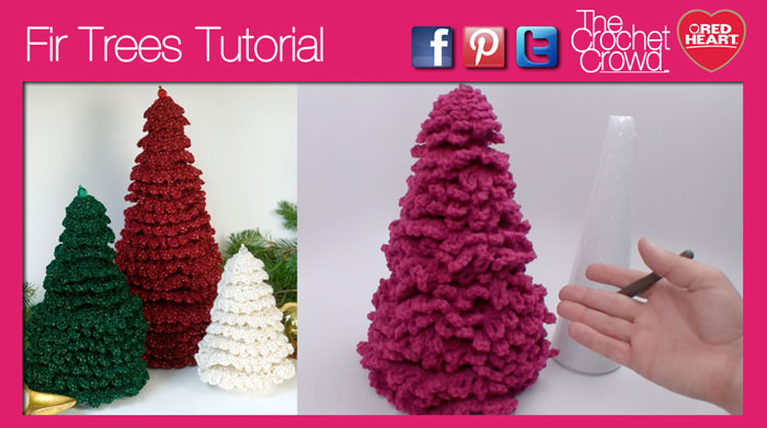 Christmas Tree Pattern Tutorial The Crochet Crowd