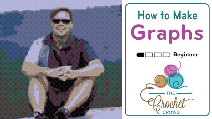 How To Make a Graph for a Crochet Picture Afghan
