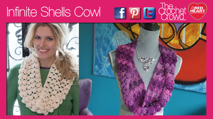 Crochet Infinite Cowl Pattern