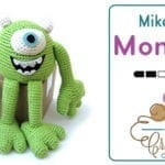 Mike The Monster: Crochet Amigurumi