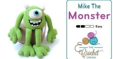 Crochet Mike the Monster