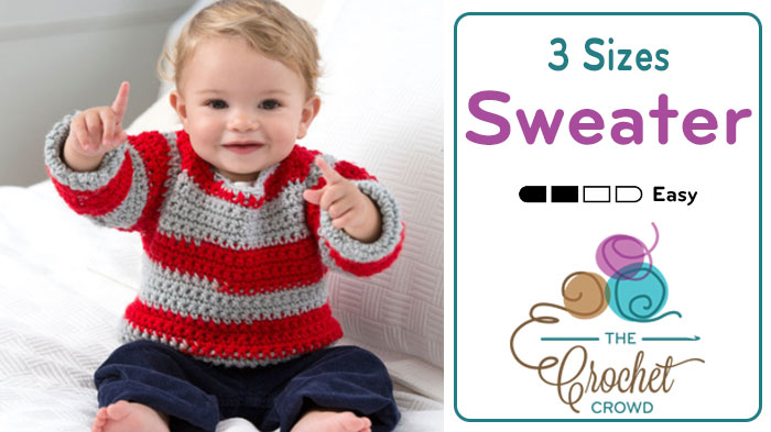 Crochet Easy Baby Sweater