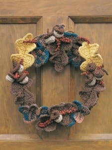 Crochet Wreath Pattern