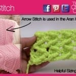 Crochet Arrow Stitch + Tutorial