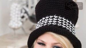 Crochet Sophisticated Top Hat