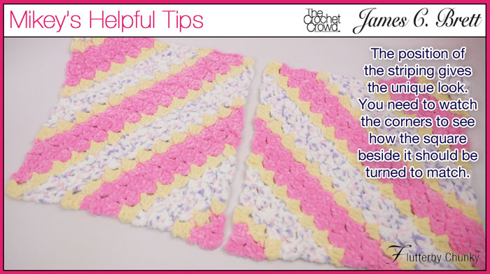 Diamond Shapes, Crochet Corner to Corner