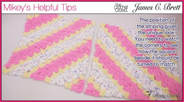 Diamond Shapes, Crochet Corner to Corner