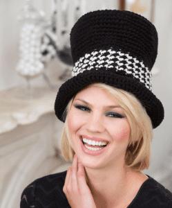 New Crochet Top Hat Pattern