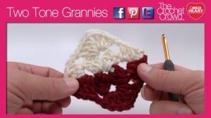 Two Tone Granny Squares