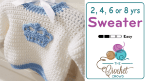 Crochet Children's Sweater