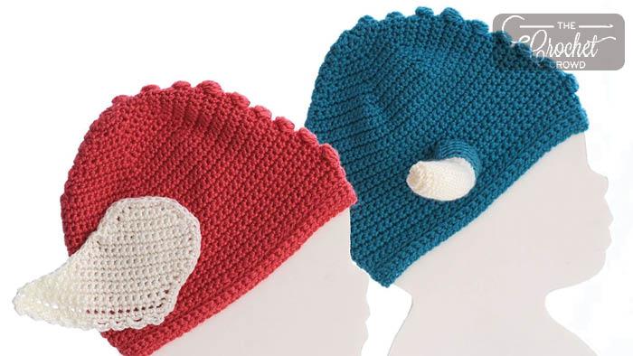 Crochet Baby Warrior Helmet Hat Pattern