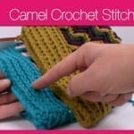 Crochet Camel Stitch + Tutorial