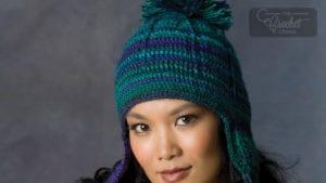 Crochet Comfy Ear Flap Hat