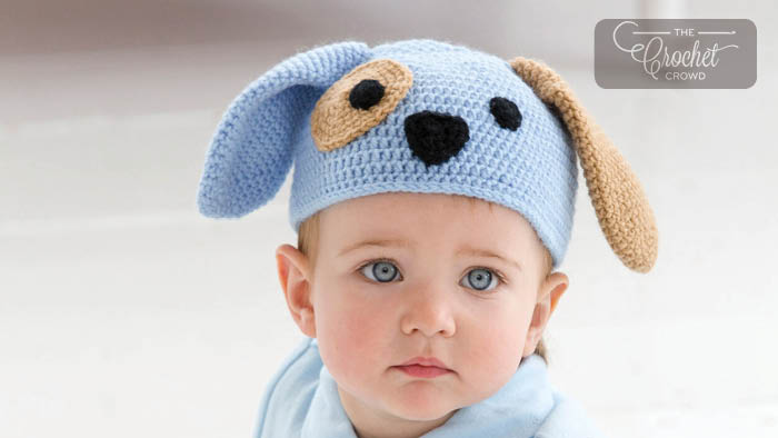 Crochet Puppy Dog Hat