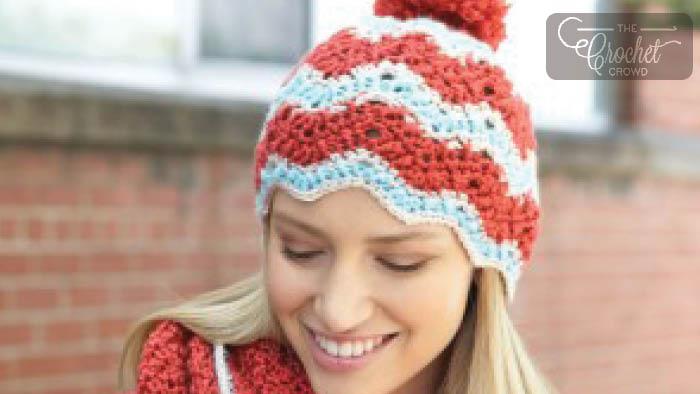Crochet Ripple Hat