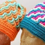 Crochet Crystal Ice Hats + Tutorial