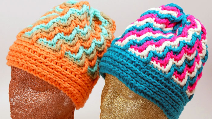 Crochet Crystal Ice Hat Pattern