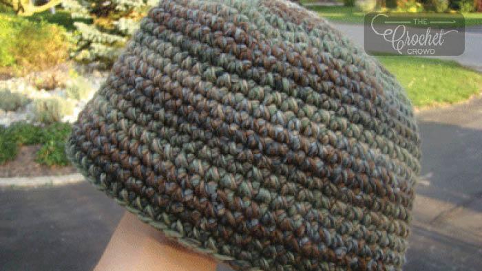 Crochet Mens Beanie Hat