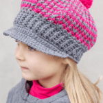 Newsboy / Newsgirl Hat: 22 of 30 Days of Hats