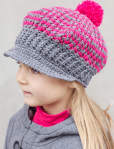 Crochet Newsboy Hats