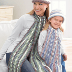 Crochet Mother Daughter Hats