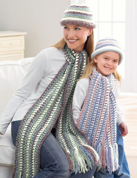 Free Crochet Pattern, Mother & Daughter