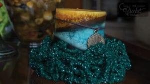 Crochet Table Top Wreath