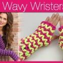 Crochet Wavy Long Wristers + Video