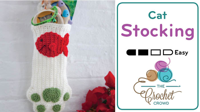 Crochet Cat Stocking