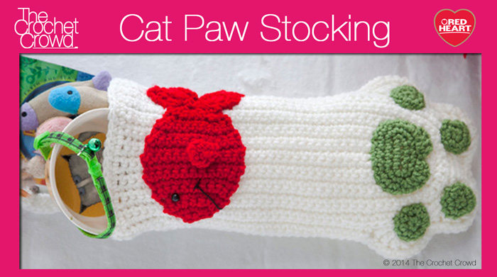 Cat Paws Christmas Stockings