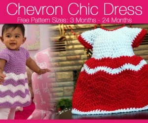 Chevron Baby Dress