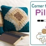 Corner to Corner Pillow + Tutorial