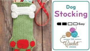 Crochet Dog Stocking