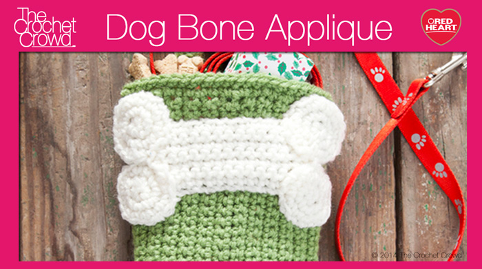 Crochet Dog Bone
